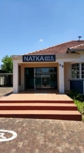 Natka Hair and Beauty salon's new salon at 98 Webber road