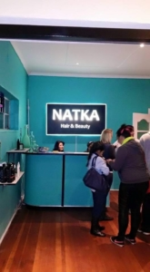Natka Hair and Beauty salon's new salon at 98 Webber road 2